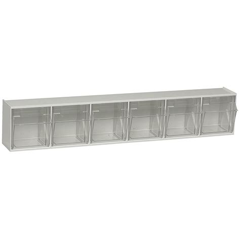 tilt and lock storage bins in small parts storage wall tilt out storage bins in small parts storage