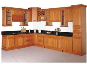 china solid wood kitchen cabinet kc 007 china kitchen