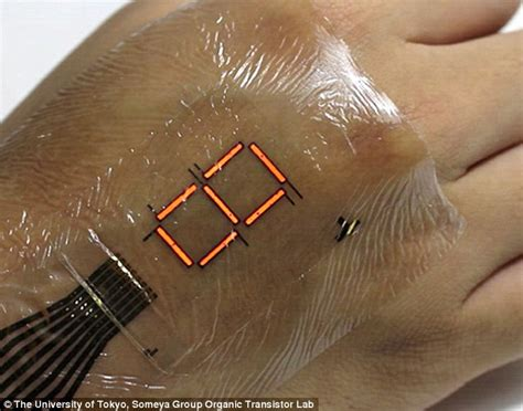 university of tokyo develops electronic skin that can
