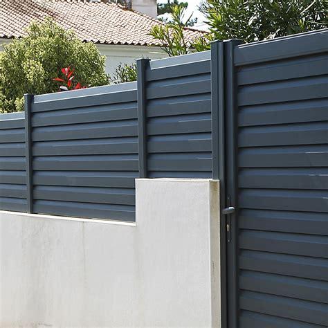 Cloture De Jardin En Aluminium 4703 by Cl 244 Ture En Alu Cl 244 Ture Moderne En Aluminium K Par K