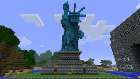 Cara Hack Home Design 3d by Minecraft Building Ideas Statue Of Liberty
