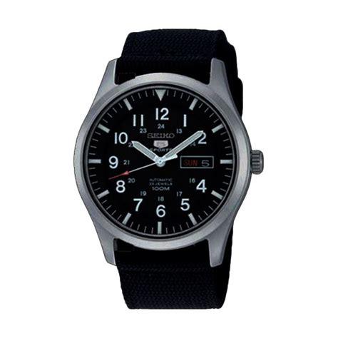 Jam Tangan Automatic Pria jual seiko 5 automatic snzg15k1 hitam jam tangan pria harga kualitas terjamin
