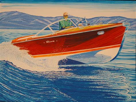 boat auctions northern california roy dryer the classic classic boat artist classic