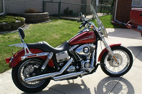 2008 Harley Davidson® FXDL Dyna® Low Rider® (sunglo red