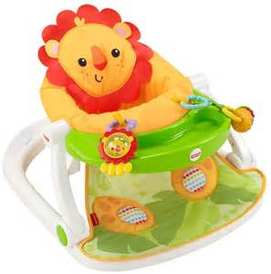 Fisher price sit me up floor seat lion free shipping