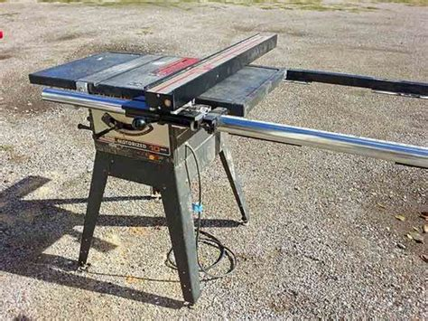 Table Saw Fence Upgrade craftsman 113 table saw fence upgrade by sirgreggins