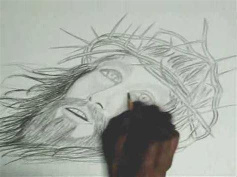 Imagenes De Jesucristo Para Dibujar A Lapiz | dibujando a cristo wmv youtube