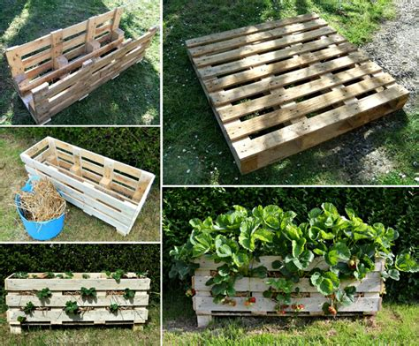 How To Make A Strawberry Planter Out Of A Pallet by Wonderful Diy Cutest Choo Choo Planter For Your Garden