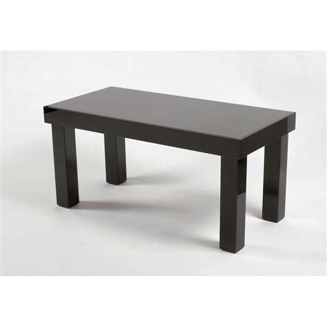 Black Glass Coffee Table Black Glass Coffee Table 2 Glass Furniture From Homesdirect 365 Uk