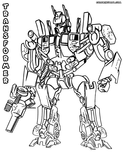 Transformers 5 Coloring Pages by Transformer Coloring Pages Coloring Pages To