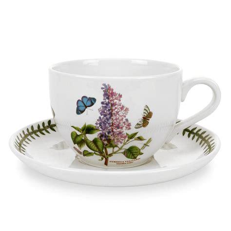 Portmeirion Botanic Garden Cups Portmeirion Botanic Garden Jumbo Cup And Saucer Garden Lilac Portmeirion Uk