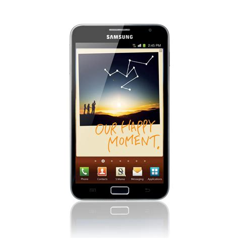 samsung galaxy note smartphone features technical specs