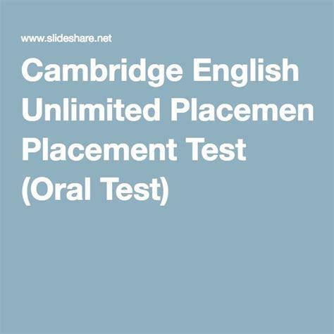 cambridge placement test 1000 ideas about cambridge on