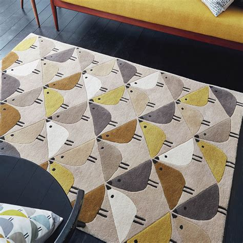 retro style rugs retro style scion lintu rugs