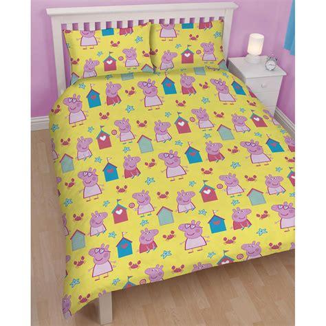 Peppa Pig Bed Set Duvet Peppa Pig Duvet Cover Seaside New Bedding Reversible Design 2 In 1 Ebay