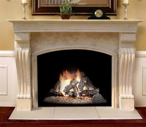 artisan nera large honed sandstone fireplace artisan 17 best images about fireplaces on pinterest fire pits