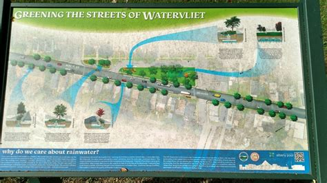project history green infrastructure watervliet route 32 green infrastructure project cdrpc