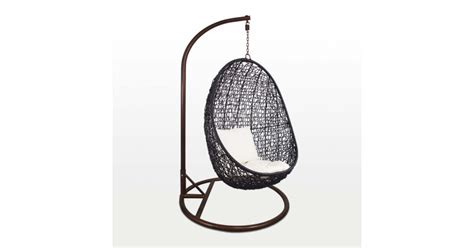 cocoon swing seat black cocoon swing chair white cushion furniture