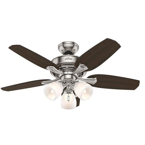 channing ceiling fan channing 44 in indoor brushed nickel ceiling fan