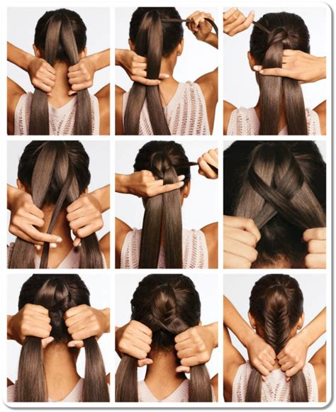 steps to show how to make fish tail favload how to do a fishtail braid on yourself step by step with