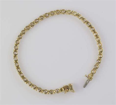 18 Carat Gold Bracelet From Organza by And Co 18k Gold Bracelet 6 50