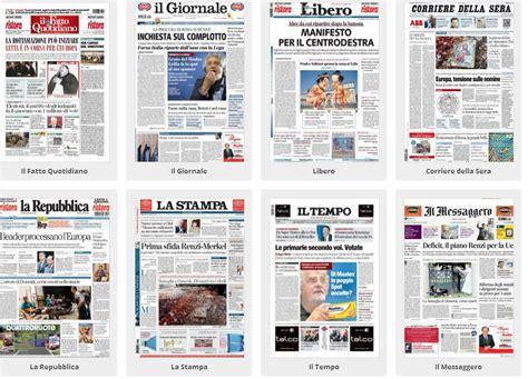 testate giornalistiche italiane le manovre di renzi in europa sulle prime pagine dei