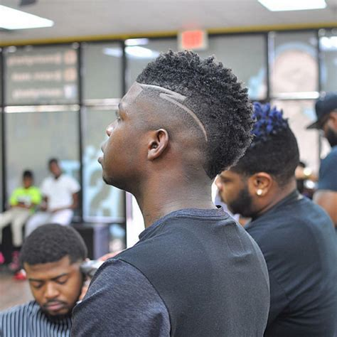 hair fade africa american pics african american faux hawk fade short hairstyle 2013