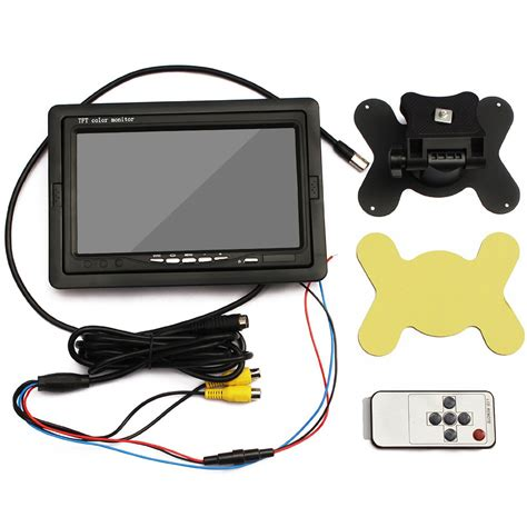 tft color monitor eincar 7 inch hd lcd tft car monitor with hd