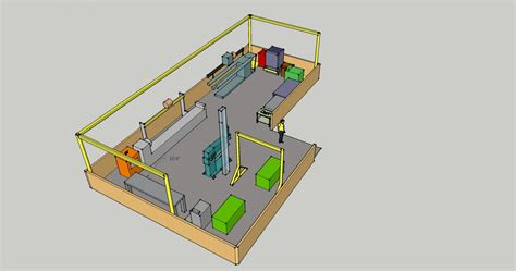 layout fabrication workshop shop layout