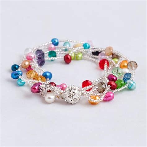 bead braclets pearl mini silver bead bracelet margaret palmer jewelry