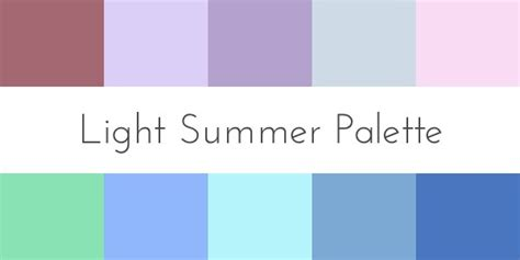 Light Summer Color Palette by Color For Your Skin Tone Summer 30 Day Sweater