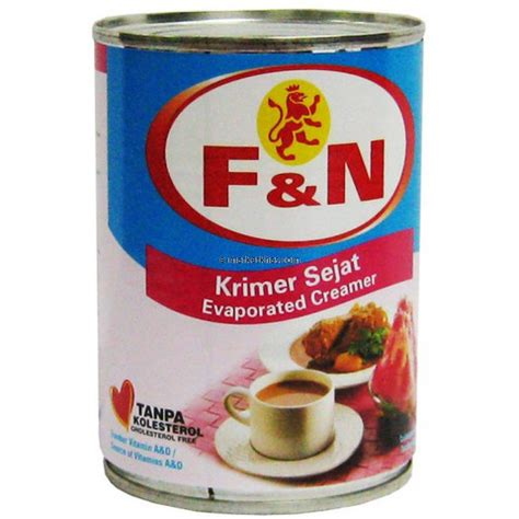 F N Evaporasi Evaporated Creamer bin gregory productions and you milk in malaysia