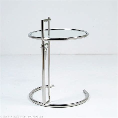 Eileen Gray Side Table Eileen Gray Adjustable Side Table Modernclassics