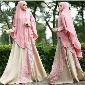 Gamis Syari Muslim Wanita Polos Busui Zarra Hitam Hijau Maroon setelan busana muslim gamis syari polos modern model terbaru