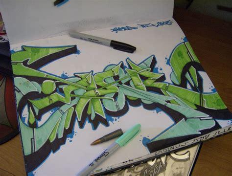 graffiti sketch wallpaper