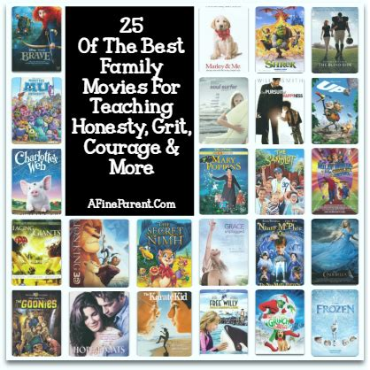 recommended family film 25 of the best family movies for teaching honesty grit