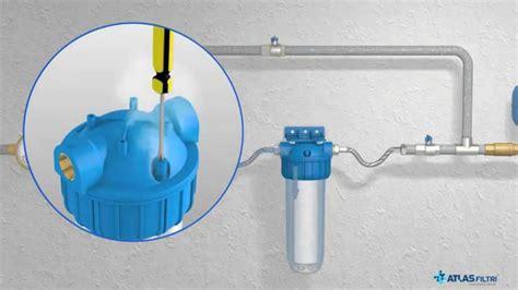 filtro anticalcare per doccia sistemi anti calcare con polifosfati in cristalli di atlas