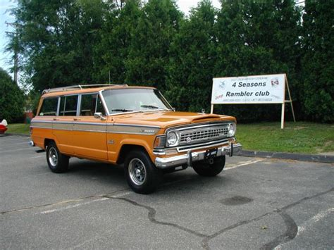 Jeep Wagoneer 1973 1973 Jeep Wagoneer Information And Photos Momentcar