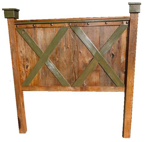 Barn Door Headboard For Sale by Bradley S Furniture Etc Rustic Barndoor Barnwood Collection