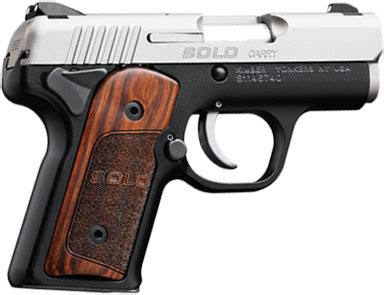 kimber 3900006 solo carry pistol w/ rosewood grips 3900006