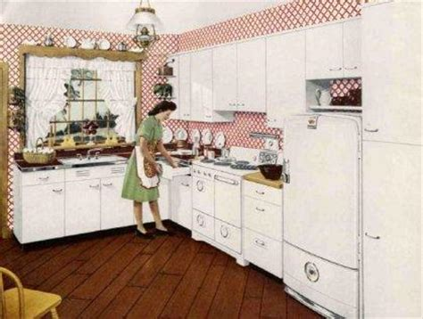 1940s Kitchen Design Retro Cuisine Paperblog