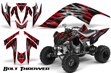 Quad Aufkleber Kit by Yamaha Raptor 700 Graphics Kit Decals Stickers Creatorx