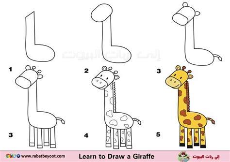 Imagenes De Jirafas Faciles De Dibujar | jirafa dibujos f 225 ciles pinterest