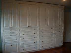 large built in wall unit traditional closet