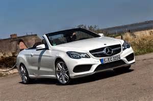 Mercedes 2014 Convertible 2014 Mercedes E Class Coupe And Cabrio Drive
