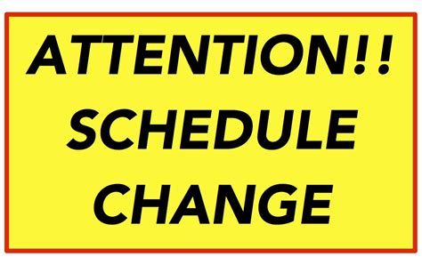 how to change clip on schedule change 8 1 8 9 coptic league