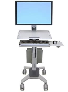 workfit c, single ld sit stand workstation