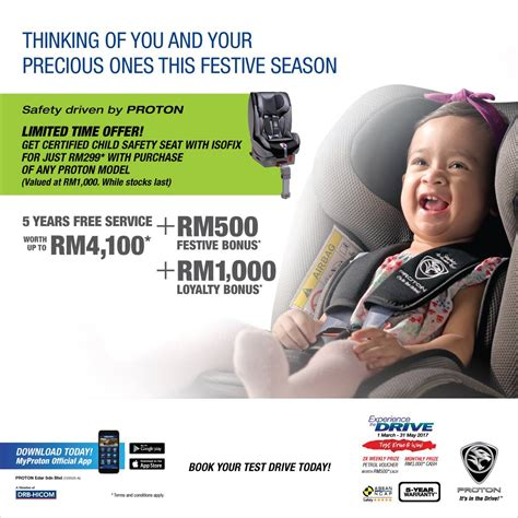 Harga Car Seat Baby proton offering child car seat worth rm1k for rm299 image