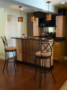 These handsome wrought iron bar stools are an appealing mixture of
