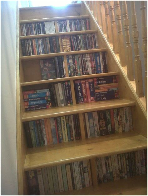 stairs shelving stair step shelving units interior design ideas
